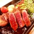 料理メニュー写真ロースステーキ(150g)