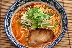 料理メニュー写真トムヤムラーメン(中華麺orタイビーフン麺)