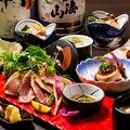 料理メニュー写真絶品地鶏の宴会コース飲み放題付き4000円~