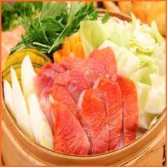 金目鯛と旬菜の蒸籠蒸し(1人前)