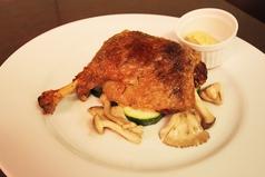 シャラン風 鴨もも肉のコンフィ