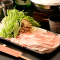 料理メニュー写真ぶな豚の蕎麦しゃぶ