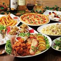 【大人気!】3時間室料無料+コース料理の宴会コース各種