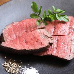 岩手県田村牧場 吊るし熟成短角牛 塊り肉の炭火焼