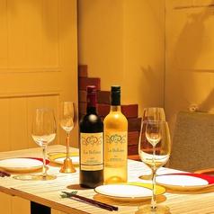 テーブル4名席