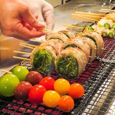 焼鳥 野菜肉巻き串 いろどり 池袋のおすすめポイント1