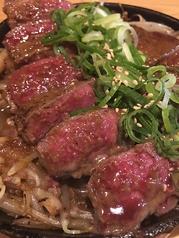 料理メニュー写真柔らか赤身の牛フィレステーキ200g