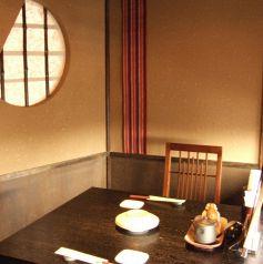 2名様席☆ご夫婦・カップルでどうぞ~★拘りのお鍋や自慢の創作料理で最高の時間をお過ごしください。