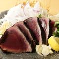 料理メニュー写真鰹の藁焼き