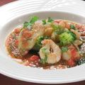 料理メニュー写真魚介のハーブソース