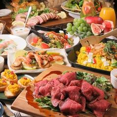 貸切パーティールーム デバージ DeBarge 渋谷のおすすめ料理1