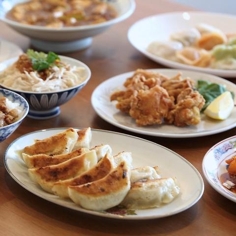【大人気☆】当店自慢のモチモチ餃子を堪能できる♪鶴東餃子コース2500円