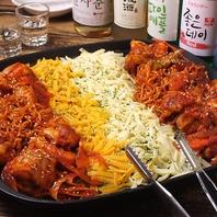 人気、定番の本格韓国料理をお楽しみください♪