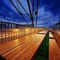 雨の場合はテント卓のみの縮小営業!7月1日NEW OPEN★夏季限定の屋上ビアガーデン!開放的なテラス席でBBQやチーズ女子会なども人気!誕生日・記念日にサプライズ特典ございます!