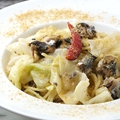 料理メニュー写真銚子産 イワシとキャベツのペペロンチーノスパゲッティ