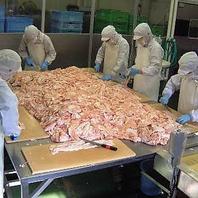 工場直送の新鮮お肉