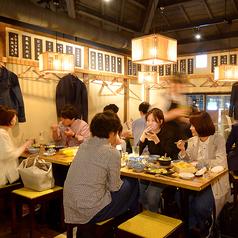 天ぷらスタンド KITSUNE 原店の雰囲気1