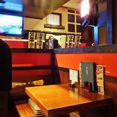 仕切りのあるボックスシートでゆったりとお食事はいかがでしょうか。周りの目を気にせず楽しめるので接待からデートまで幅広くご利用頂けます。
