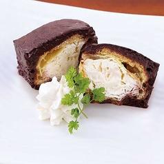 料理メニュー写真チョコレートシューアイス