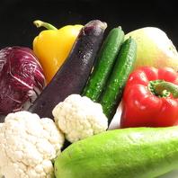 野菜ソムリエが厳選した野菜を使用♪