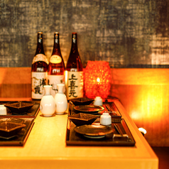 個室居酒屋ならではの開放的なご宴会席も多数ご用意しております♪オシャレな空気の中、当店オリジナル一品メニューをお召し上がりください。