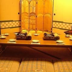 6名様用の座敷テーブル