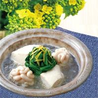 春一番の美味しさ~菜の花と白子~