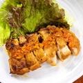 料理メニュー写真もも肉のガーリックステーキ