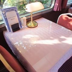 2名様用のテーブル席です。お一人様でももちろんご利用頂けます。ゆっくりお寛ぎ下さい。