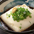 料理メニュー写真おぼろ豆腐 おいしい塩で
