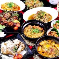 人気の韓国料理&韓国チキンも!食べ飲み放題は種類豊富
