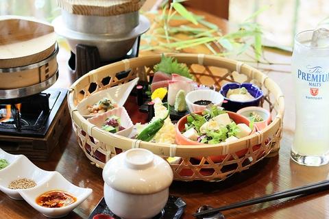 和食できれいにヘルシーに♪四季の創作料理をお座敷でゆったり♪最大30名様までOK!!