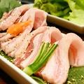 料理メニュー写真トントロ(豚頬肉)