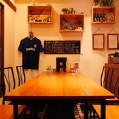 【1F】6名用テーブル席は仲間同士の飲み会に