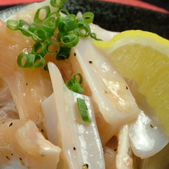 料理メニュー写真いわい鶏ボンジリ / 国産鶏ナンコツ