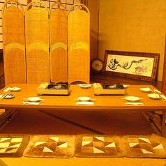 8名様用の座敷テーブル