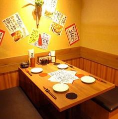 会社宴会・友人との飲み会に♪2人、4人、6人、8人、10~20人など人数に応じて変更できます。お気軽にご相談ください。※写真は系列店です。