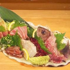 料理メニュー写真お刺身を各種ご用意
