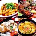韓国料理、チーズ料理、肉料理と多彩な料理を食べ放題で♪【大分/都町/食べ飲み放題/食べ放題/飲み放題/肉/サプライズ/女子会/えす/エス/es/ES】