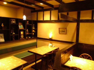 アンナンブルー Annam blue ブンカフェの雰囲気1