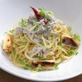 料理メニュー写真北限シラスと仙台曲がりネギのペペロンチーノ