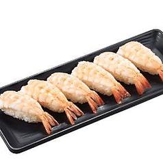 ちょい足し寿司えび(6貫)