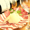 料理メニュー写真イタリア産生ハムとパルミジャーノレッジャーノ24ヶ月