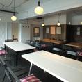 【2階Funninng Room】音響機器、カラオケ、マイク、プロジェクター完備!二次会や貸切パーティーに最適です♪