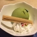 料理メニュー写真バニラアイス・抹茶アイス