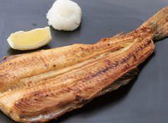 料理メニュー写真北海道の縞ホッケ焼き