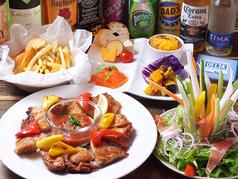 デルタマーケットLocal Restaurantのコース写真
