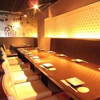 広島市での個室宴会はお任せください◎1,2~28名様OK!