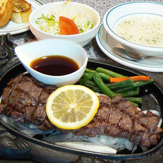 料理メニュー写真和風88ステーキ(200g)