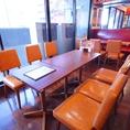≪2F≫ゆったり広々テーブル席は組み合わせ次第で少人数~大人数までご対応可能です◎